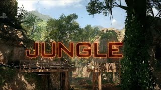 Jungle Remastered Multiplayer Map Gameplay in Black Ops 3 (Back in Black DLC 6 Bonus Maps)