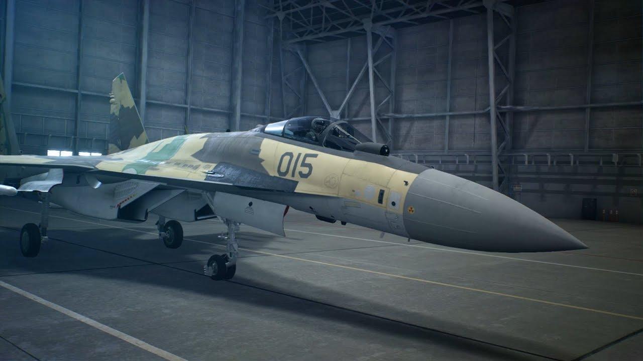 Ace Combat 7: Skies Unknown 'Su-35S' trailer - Gematsu
