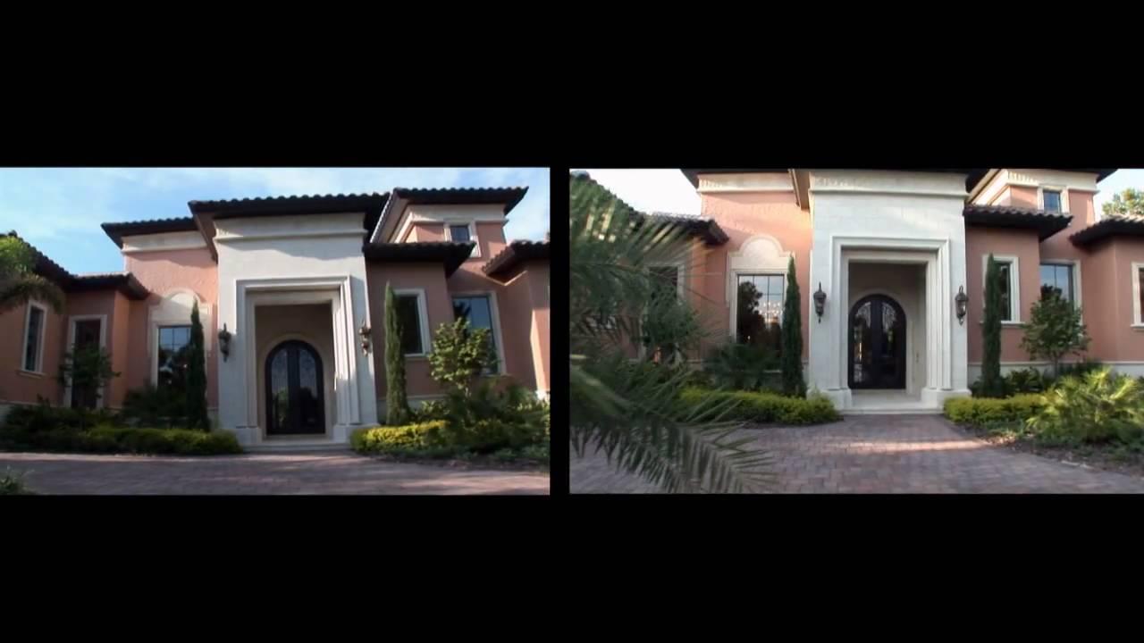Luxury orlando real estate central florida youtube for Designer homes of central florida