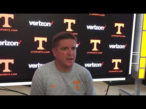 Tennessee DC Bob Shoop gives the scoop on Vols LBs