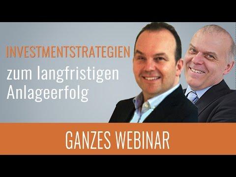 ► Investmentstrategien zum langfristigen Anlageerfolg