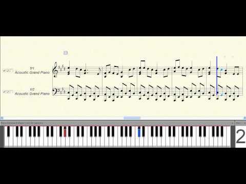 Arigatou (Kyou Kara Maou OST) ~ Music Piano Sheet