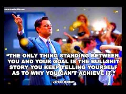 Most Inspirational Quotes From The Wolf Of Wall Street YouTube Fascinating Wall Street Quotes
