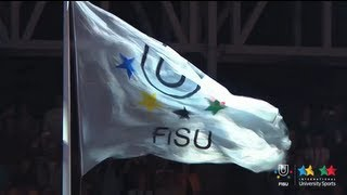 27th Summer Universiade 2013 - Closing ceremony, transfer of the flag