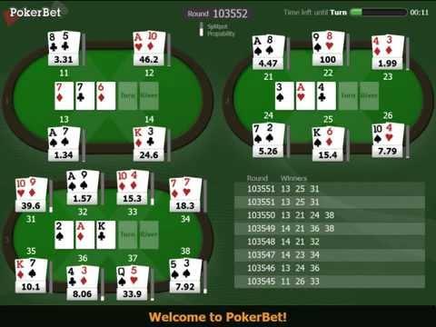 покере в онлайн ставка