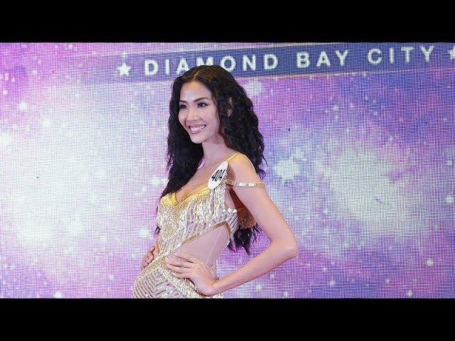 """Hoàng Thùy giành chiến thắng """"Best Catwalk"""" Miss Universe Vietnam"""