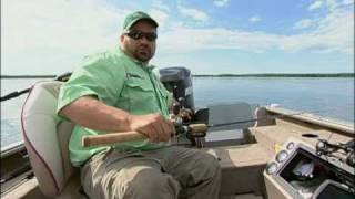 Trolling for Weed Walleye