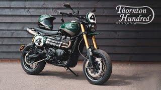 How to build a Cuṡtom Triumph Scrambler XE Supermoto! - Thornton Hundred