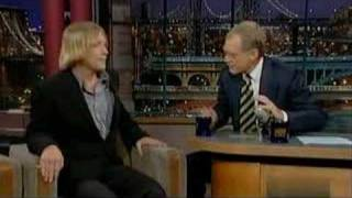 Grizzly Man on David Letterman