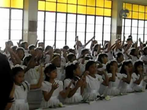 erika's first holy communion♥ finale song♥