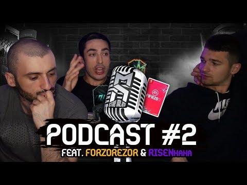 Super Stas | risenHAHA | Forzorezor | Podcast #2 | Темы: FIFA 20. Киберспорт.
