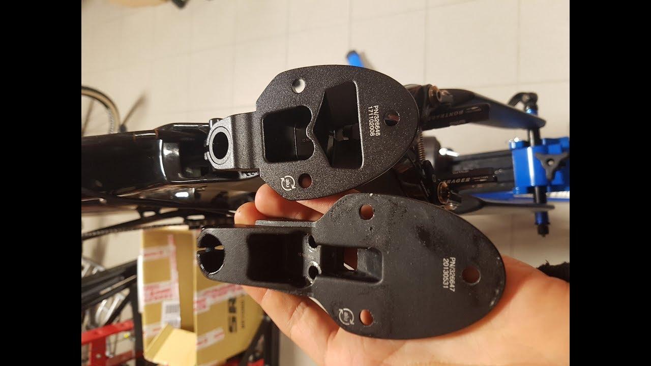 Trek Speed Concept TT Tri Handlebar Base Bar Mono Spacer //// 45mm