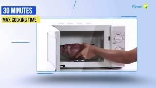 Bajaj 1701MT 17 L Solo Microwave Review Video