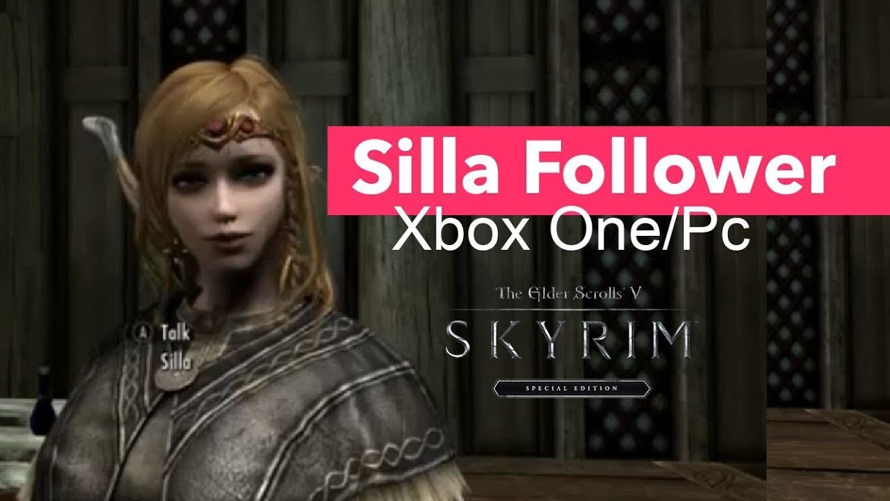 Skyrim SE Xbox One/PC Mods|Silla Follower