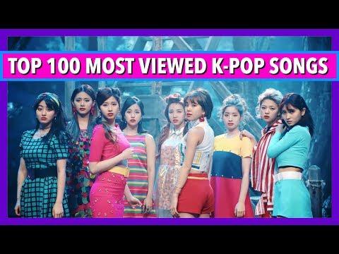 [TOP 100] MOST VIEWED K-POP SONGS • JULY 2017