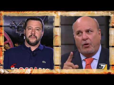Matteo Salvini, Alan Friedman e Giuliano Cazzola si confrontano su fisco, pensioni, tasse