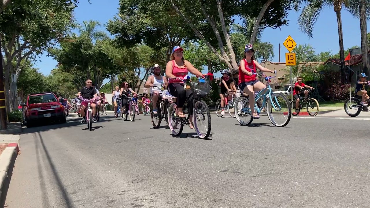 Download 2021 July 4 Wilshire Avenue Bicycle Parade, Part 1