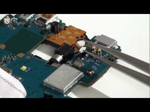 Sony Xperia Acro S - как разобрать смартфон и обзор запчастей