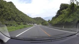 国道53号 智頭街道、智頭町-用瀬町 車載動画 HX-A500