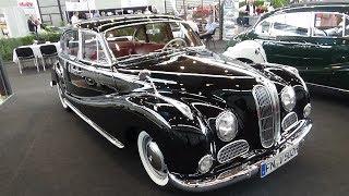1959 BMW 502 3.2 V8 - Klassikwelt Bodensee 2017