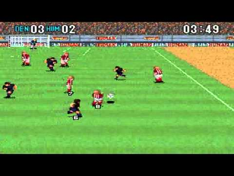 Super Formation Soccer 2: Dinamarca VS Human