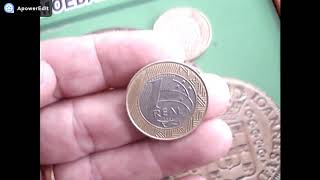 moeda de 1 real 1999 tiragem baixa dificil quanto vale veja