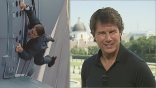 Tom Cruise on His 'Holy Sh--' Moment in 'Mission Impossible'