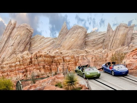 [HD] Radiator Springs Racers – Slot Car Attraction Wide Angle POV: Disney California Adventure