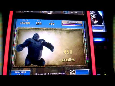 King Kong Cash An Atronic Slot Machine Bonus Win