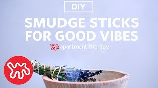 Smoke Sticks | Weekend DIYs