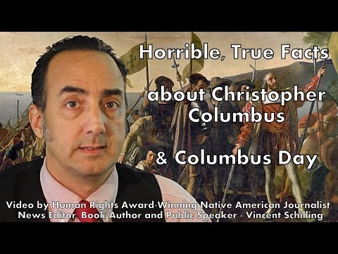 Horrible, True Facts about #Columbus and #ColumbusDay