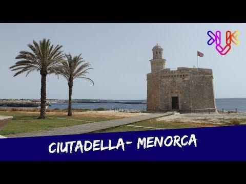 Menorca Ciutadella   Romantikus mediterrán kikötőváros Spanyolországban