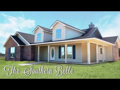 Heritage Homes - Southern Belle floor plan - Video Tour