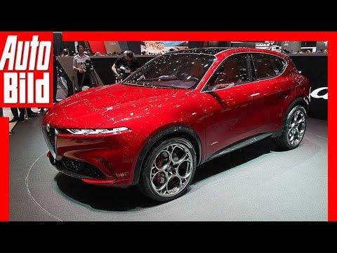 Alfa Romeo Tonale (Genf 2019) - Test, erste Infos, Sitzprobe, Details