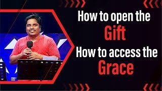 """How to Open the Gift  How to access the Grace"" (20-10-19) Bro.D.Jestin (ESS1941)"