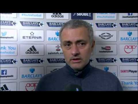 Southampton 0-3 Chelsea - Jose Mourinho (01-01-14)