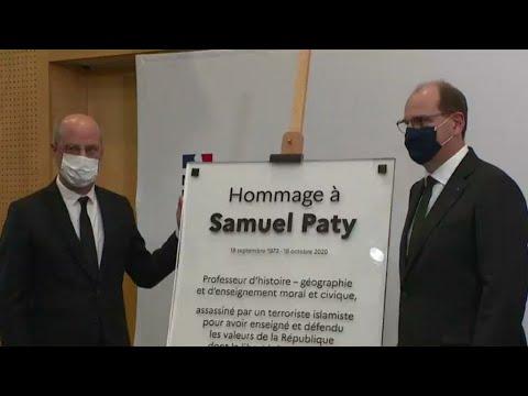 رئيس الوزراء الفرنسي في ذكرى اغتيال صامويل باتي  - نشر قبل 60 دقيقة