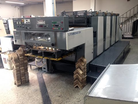Komori L-428 Used Offset Printing Press