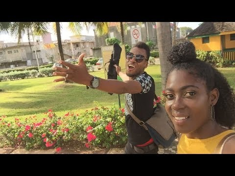 Our 1st Tour In Jamaica | OCHO RIOS | Jamaican Vloggers | Jamaican Lifestyle | Vlog #1
