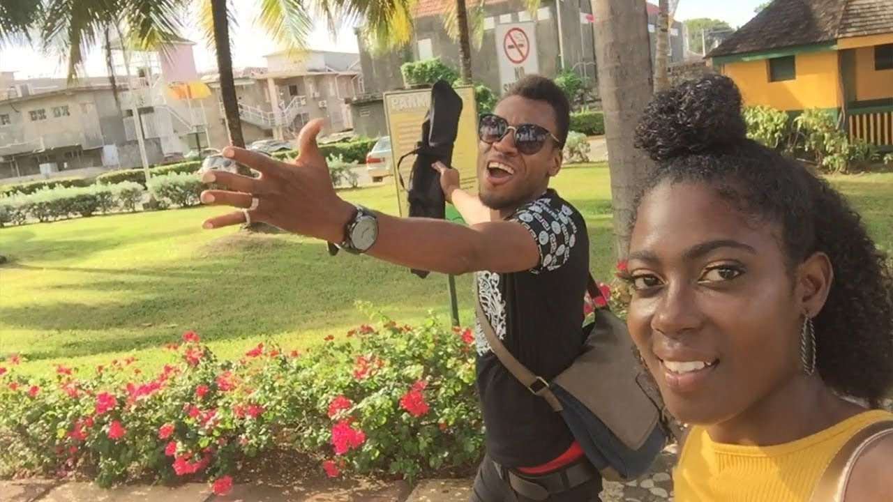 Our 1st Tour In Jamaica   OCHO RIOS   Jamaican Vloggers   Jamaican Lifestyle   Vlog #1