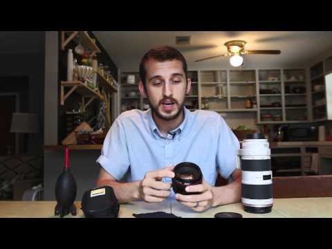 How To Clean Camera Lenses