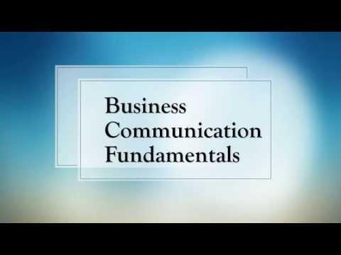 Course Promo: Business Communication Fundamentals