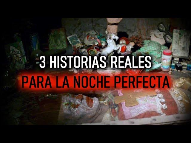 3 Historias Reales Para La Noche Perfecta