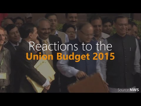 Reactions to the Union Budget 2015