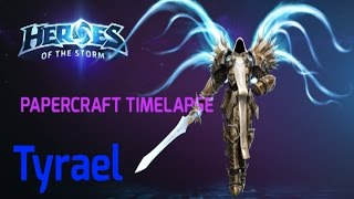 Papercraft Timelapse: Tyrael (Heroes of the Storm/Diablo)