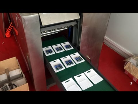 card packaging machine