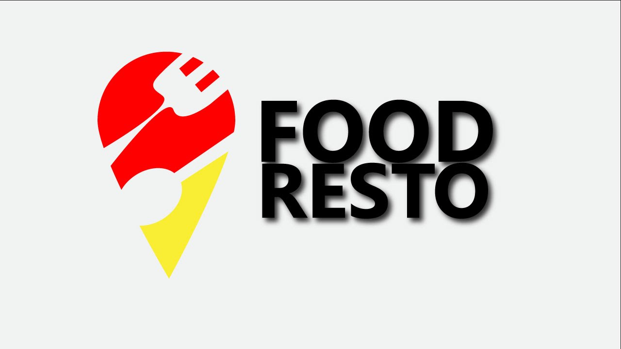 Professional design logo food and restaurant