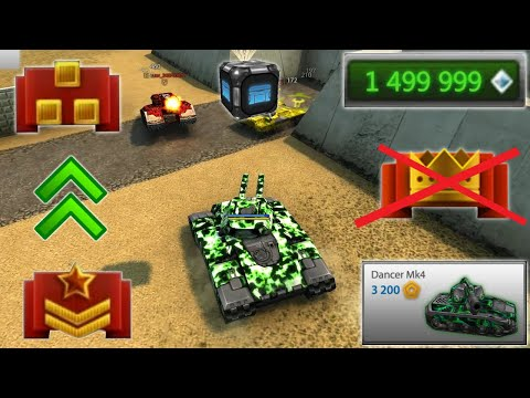 Tanki Online - New Road To Legend (NO BUY) Account! Buying MK4 Hammer +New Alteration Танки Онлайн