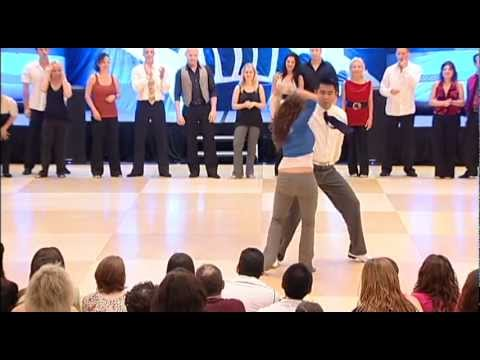 Champion West Coast Swing Dancers Arjay Centeno & Torri Smith Liberty Swing