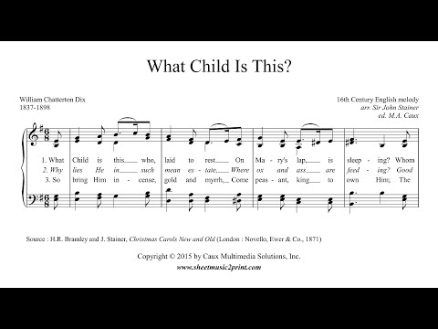 What Child Is This? - Piano